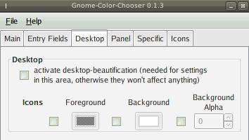 gnome color chooser