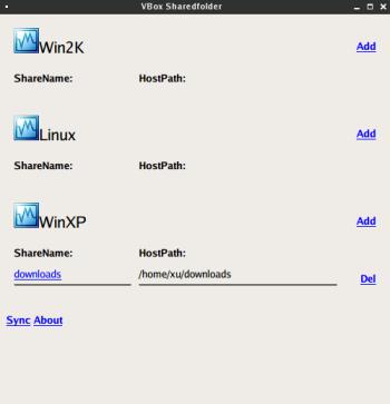 VirtualBox Sharedfolder