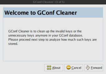 GConf Cleaner