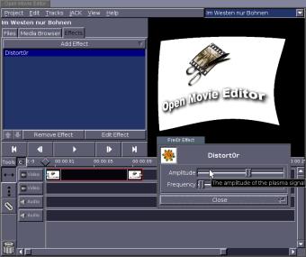 Open Movie Editor