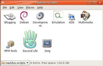 Nautilus Scripts