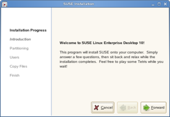 openSUSE LiveCD Installer