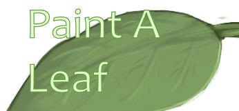 Paint a leaf