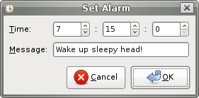 Alarm Applet