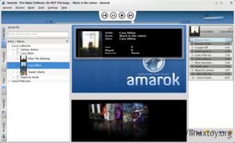 Amarok 2 截图