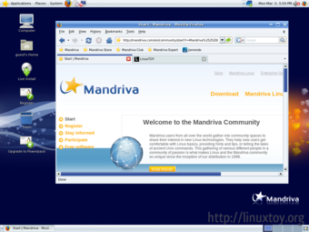 Mandriva Linux 桌面