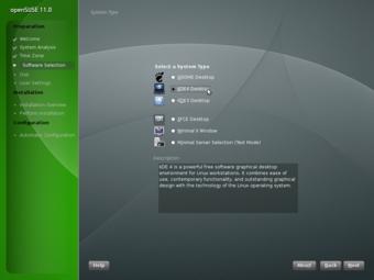 openSUSE 11.0 Beta 1 安装截图