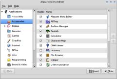 Alacarte Menu Editor