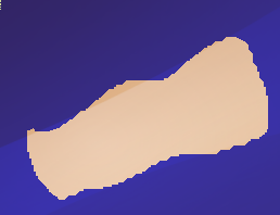 GIMP 的前景色提取工具