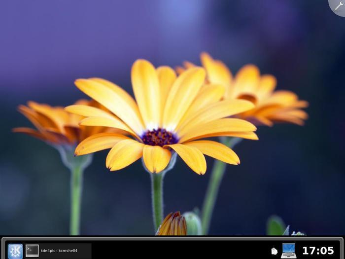 KDE 4.0 RC2 桌面