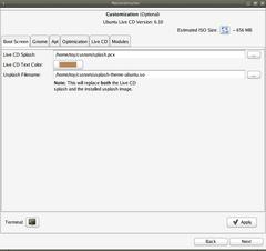 reconstructor bootscreen