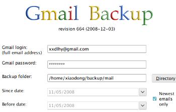 Gmail Backup