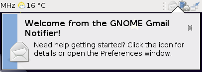 GNOME Gmail Notifier