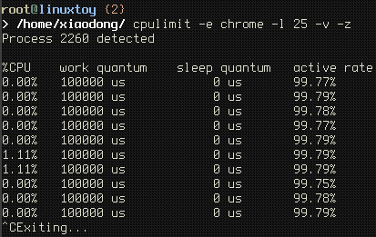 cpulimit